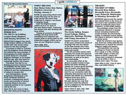 New Steine Hotel – Funky Red Dog Ausstellung, klicken Sie zum lesen der PDF