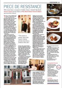 New Steine Hotel – Essen / Restaurant - Bericht – klicken Sie zum lesen der PDF