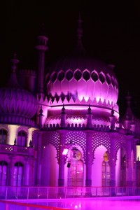 Brighton's Royal Pavilion at Night