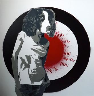 Funky Red Dog, Brighton Fringe Exhibition