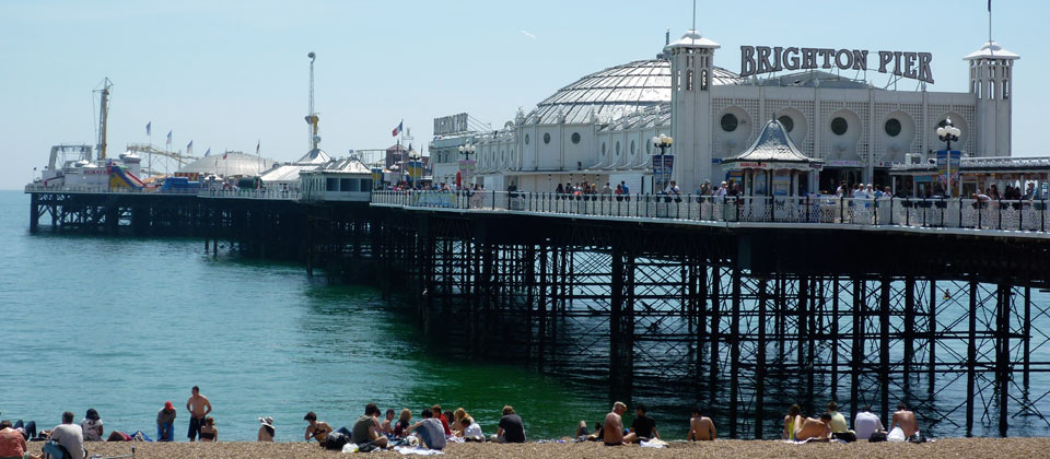 Familienurlaub in Brighton
