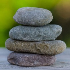 zen pebbles!
