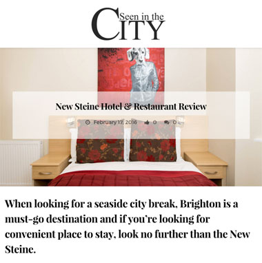 Seen in the City review 2016