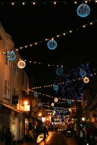 Brighton's North Laines at Christmas