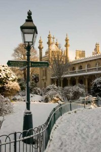 Brighton's Royal Pavilion at Christmas