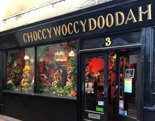 choccywoccydoodah chocolate emporium, Brighton