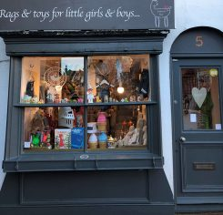 One of many, many independent shops in Brighton's Laines.
