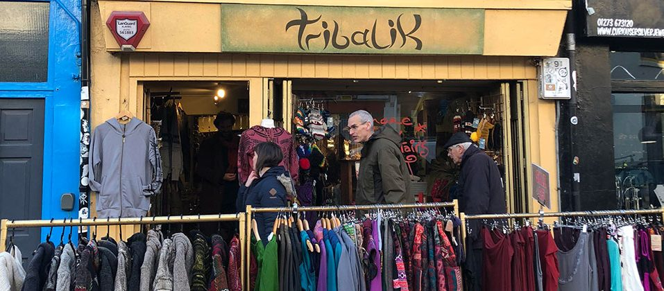 Tribal UK shopping in the North Laines