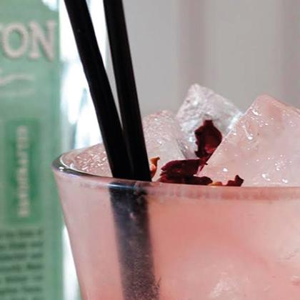 Pink Brighton Gin Cocktail