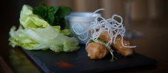 New Steine Bistro tempura.